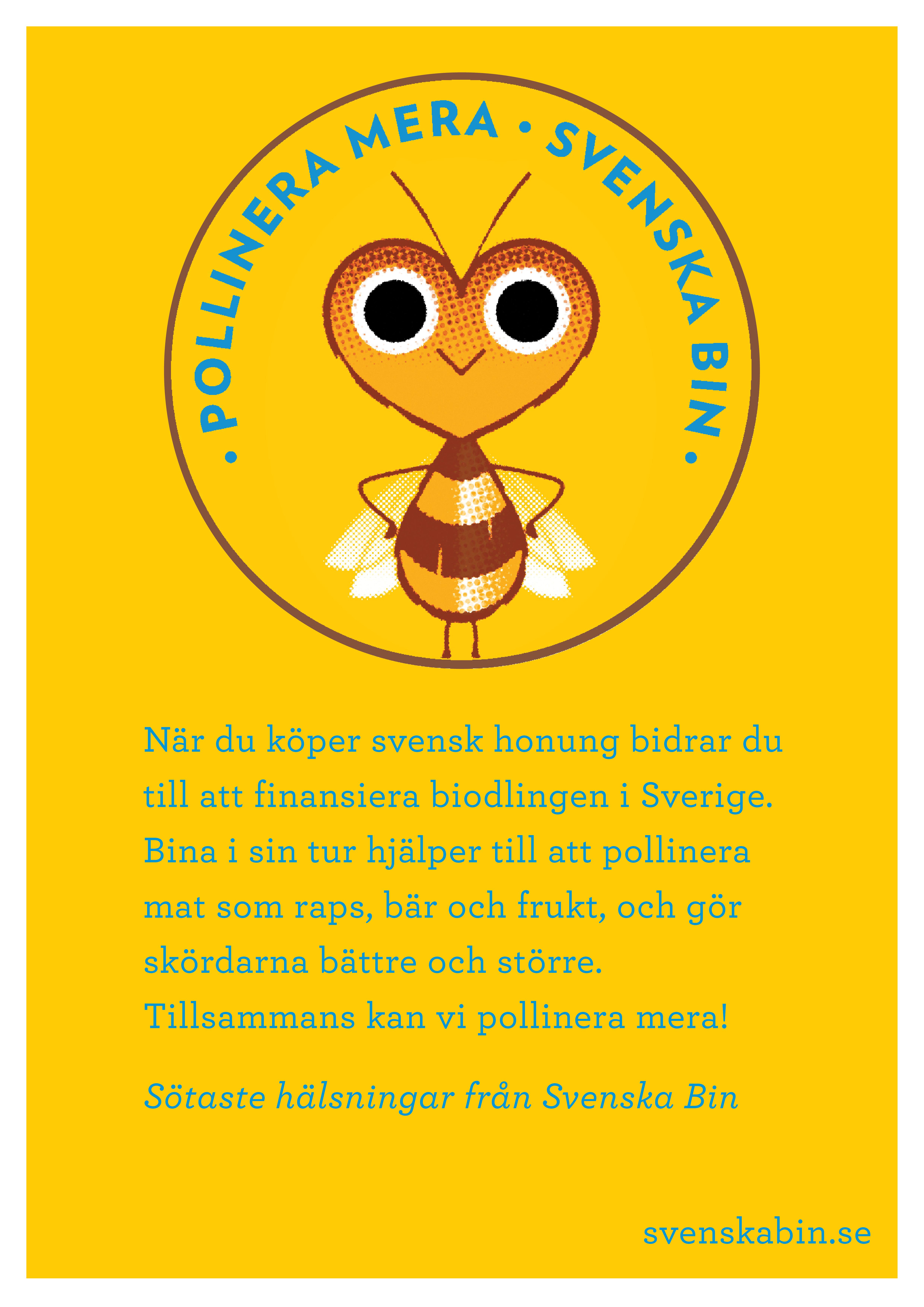 Affisch Svenska Bin
