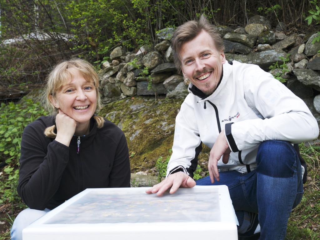 Lotta Fabricius och Paul Svensson.