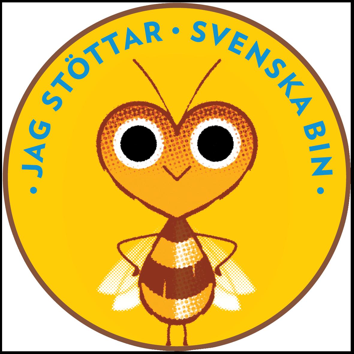 Stötta svenska bin