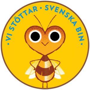 Vi stöttar Svenska Bin