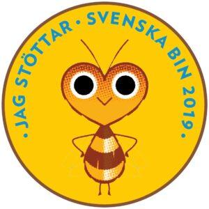 Jag stöttar Svenska Bin 2019