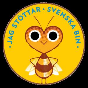 Jag stöttar Svenska Bin